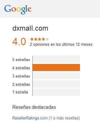 DXMall Valoración