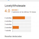 LovelyWholesale Opiniones