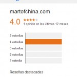 MartofChina Opiniones